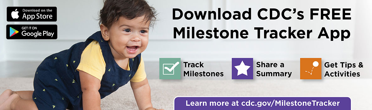 CDC Milestones in Action photo and link