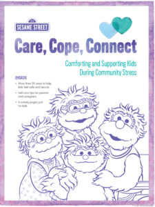 Sesame Street Care Cope Connect image