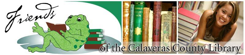 Friends of the Calaveras Library logo and link